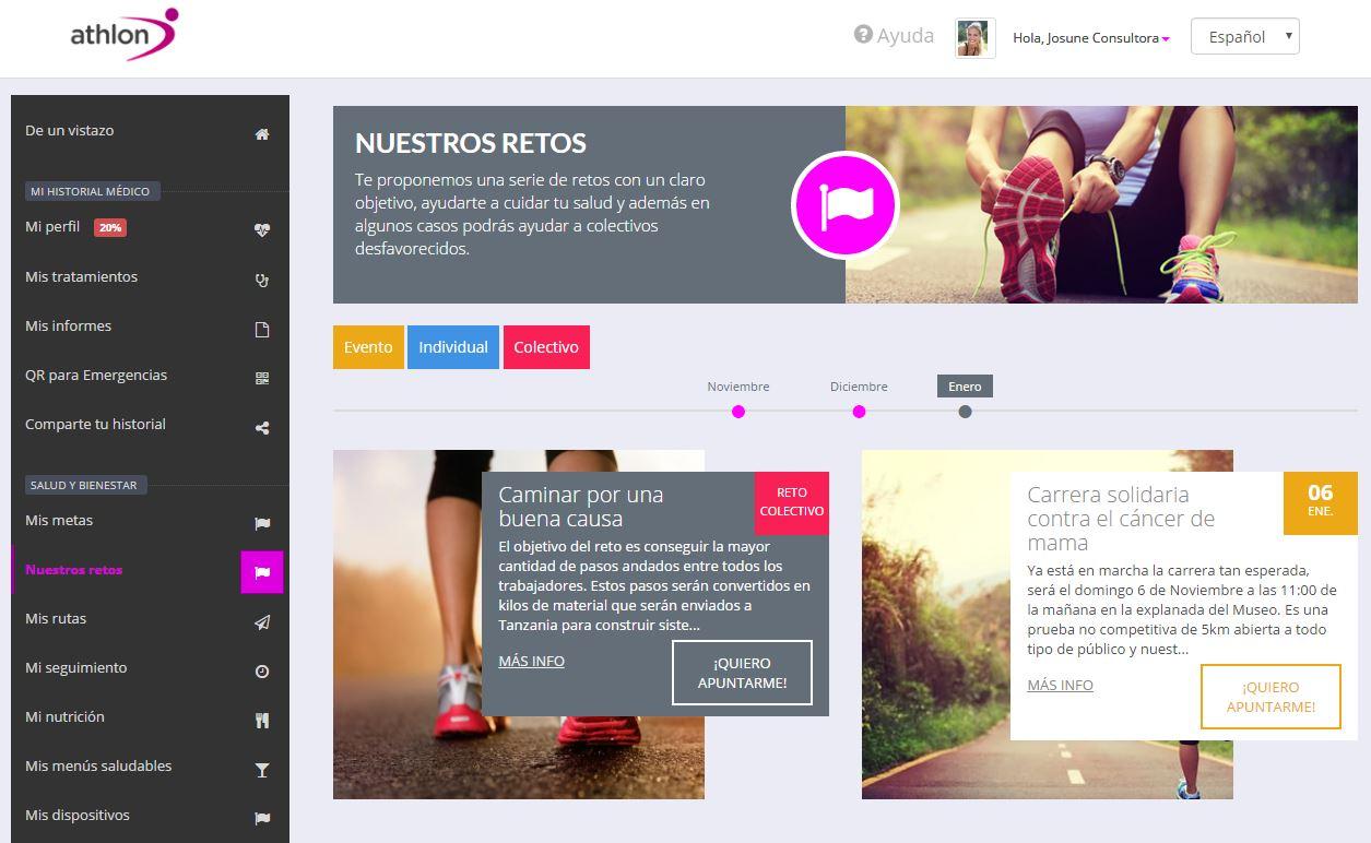 Retos Athlon Health