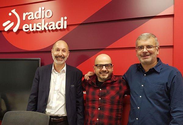 Juan Carlos Santamaría en Radio Euskadi