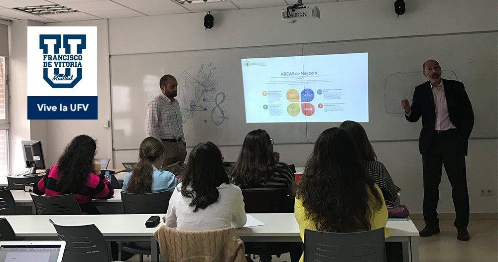 Colaboramos en el Grado de Biotecnología de la Universidad Francisco de Vitoria