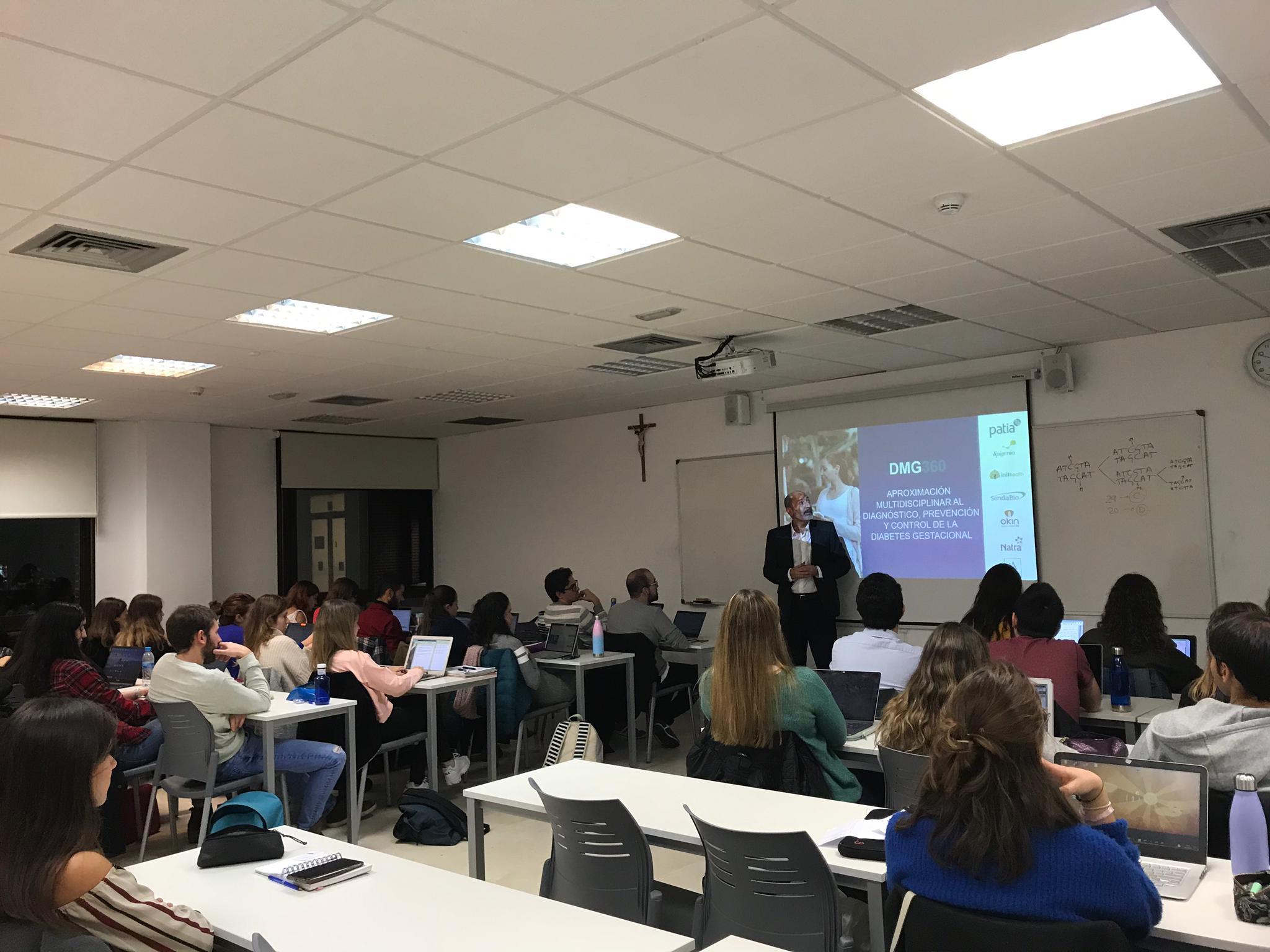 Inithealth colabora en el Grado de Biotecnología de la Universidad Francisco de Vitoria