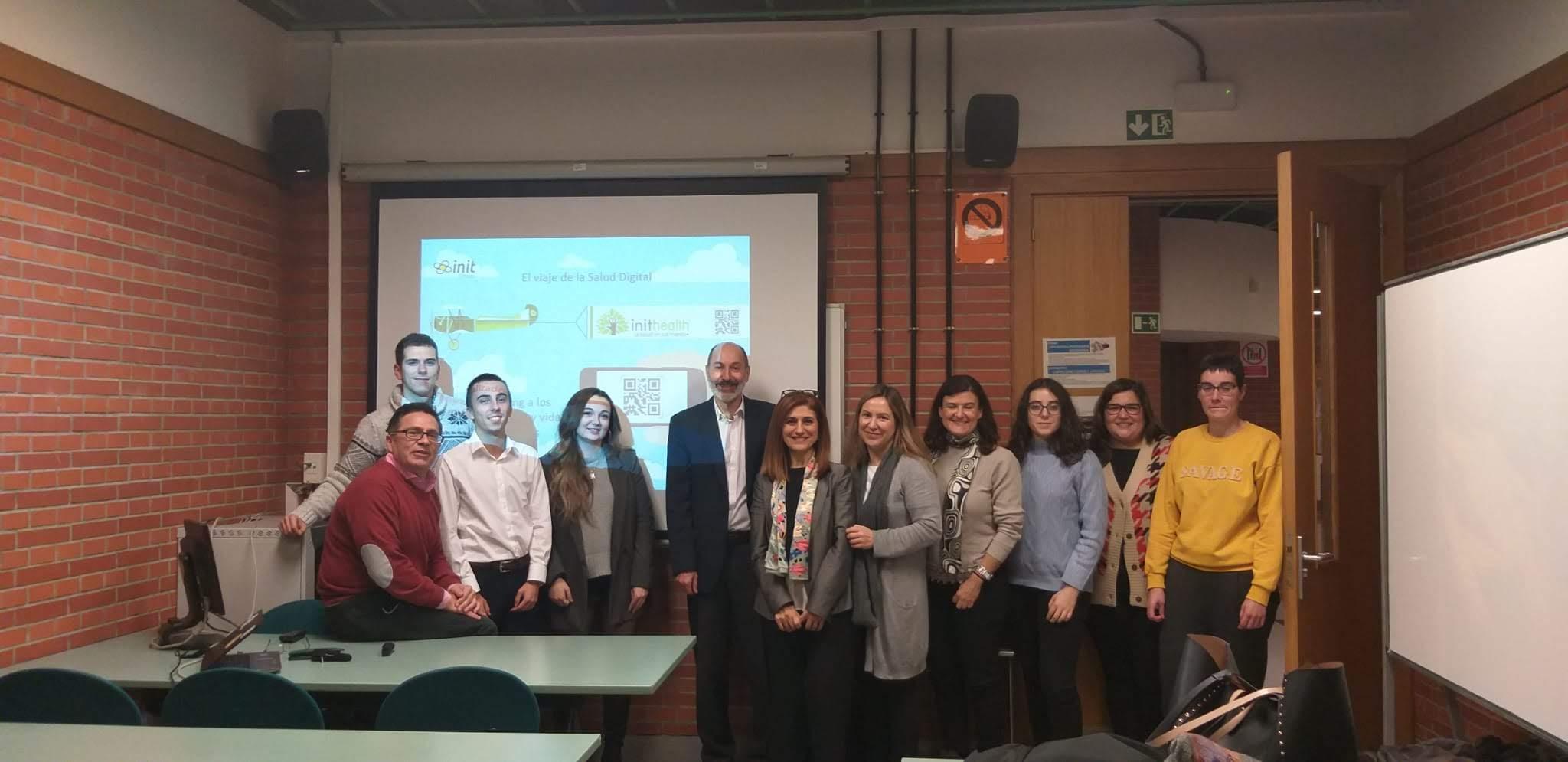Inithealth participa en el Máster en Ciencias Actuariales y Financieras de la Universidad del País Vasco UPV/EHU